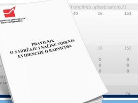 Novi Pravilnik o sadržaju i načinu vođenja evidencije o radnicima