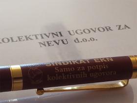 Potpisani kolektivni ugovori u Cedeviti i Nevi