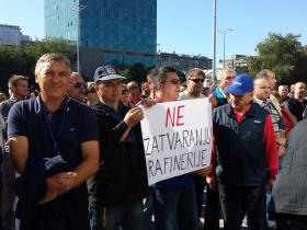 Čekamo odluku o sudbini radnika Rafinerije Sisak