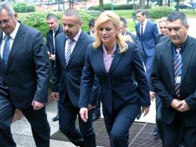 Predsjednica se sastala sa sindikatima u Rafineriji Sisak