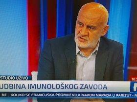 Predsjednik EKN-a na N1 govorio o Imunološkom zavodu